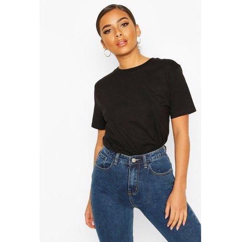 Tee-shirt col rond manches courtes - BOOHOO PETITE - Modalova