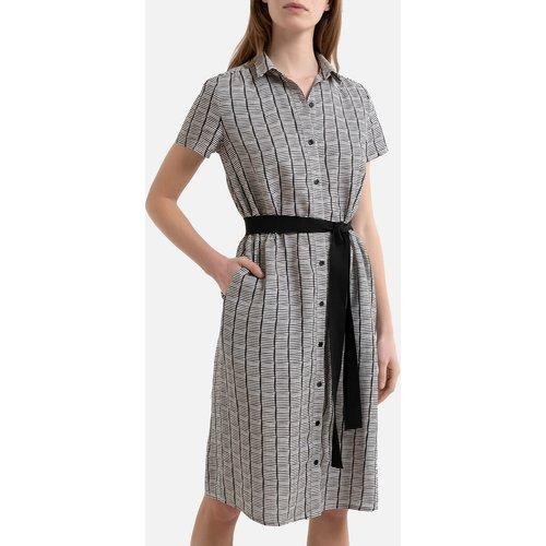 Robe boutonnée en lin à manches courtes DICKA - Harris wilson - Modalova