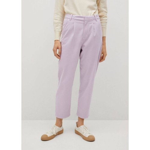 Pantalon à pinces coton - Mango - Modalova
