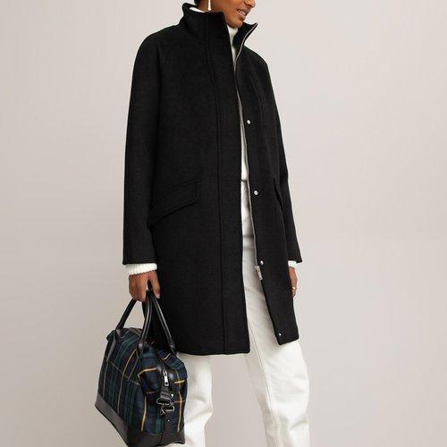Manteau mi-long zippé, col montant - LA REDOUTE COLLECTIONS - Modalova