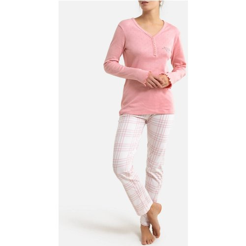 Pyjama en coton manches longues - MELISSA BROWN - Modalova
