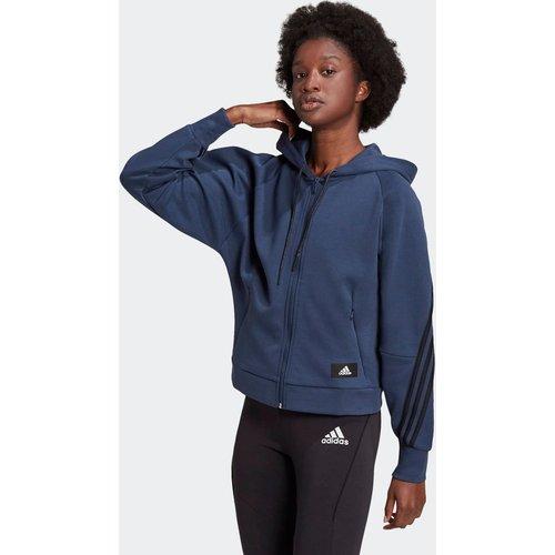 Veste à capuche adidas Sportswear Wrapped 3-Stripes Full-Zip - adidas performance - Modalova