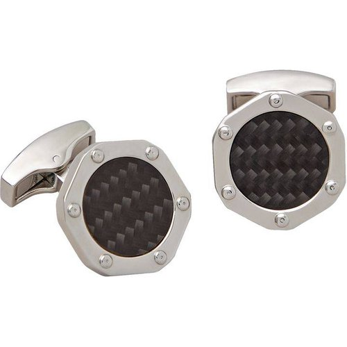 Boutons de manchette hexagonal motif - BRUCE FIELD - Modalova