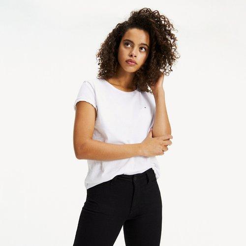 T-shirt col rond uni - Tommy Jeans - Modalova