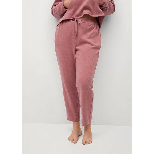 Pantalon coton - Violeta by Mango - Modalova