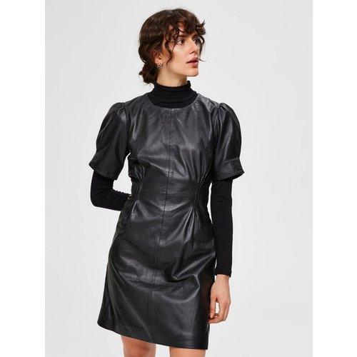 Mini-robe Cuir  - Selected Femme - Modalova