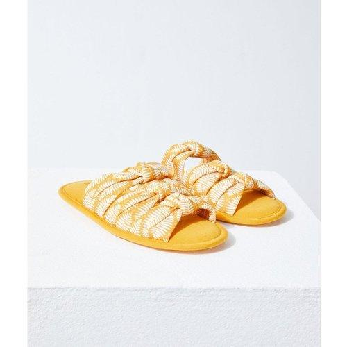 Chaussons sandales nouées BELLA - ETAM - Modalova