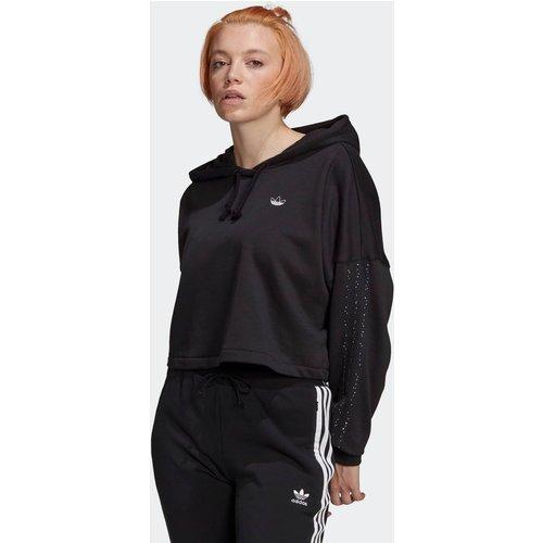 Sweat-shirt à capuche Cropped - adidas Originals - Modalova