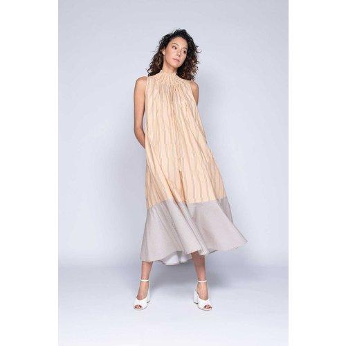 Robe longue sans manches rayée - Modèle Cephee - DERHY - Modalova
