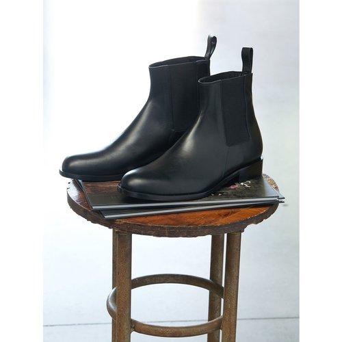 Boots Chelsea homme en cuir - CYRILLUS - Modalova