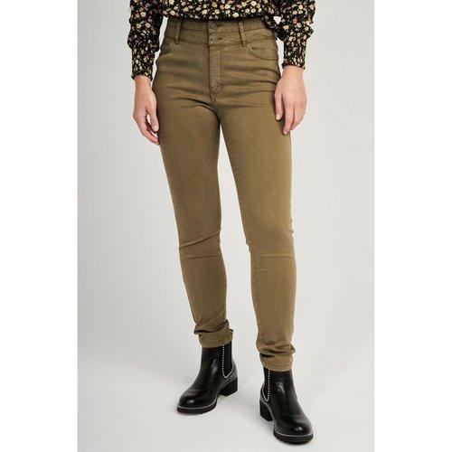 Pantalon taille haute double ceinture - Naf Naf - Modalova