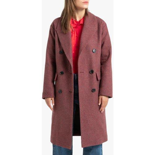 Manteau pardessus imprimé à carreaux - LA REDOUTE COLLECTIONS - Modalova