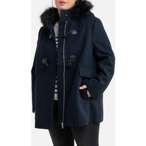 Duffle-coat mi-long à capuche - LA REDOUTE COLLECTIONS PLUS - Modalova