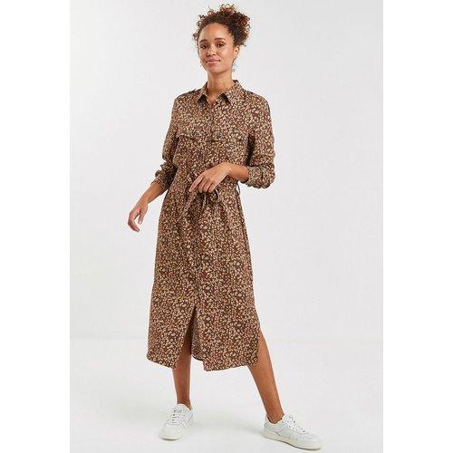 Robe chemise style militaire - Next - Modalova