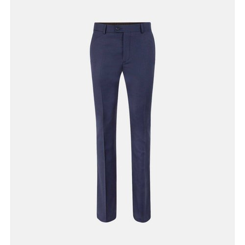 Pantalon De Costume Slim Bader Ns Cerruti Laine - COMPTOIR GL - Modalova