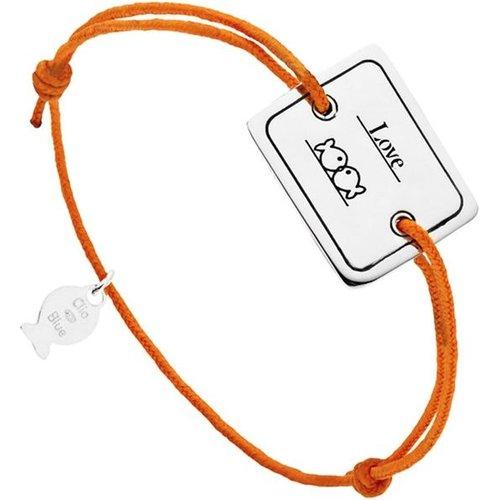 Bracelet cordon et argent 925, Love, , 4.5g - CLIO BLUE - Modalova