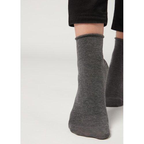 Chaussettes légères en coton à bords confortables - CALZEDONIA - Modalova