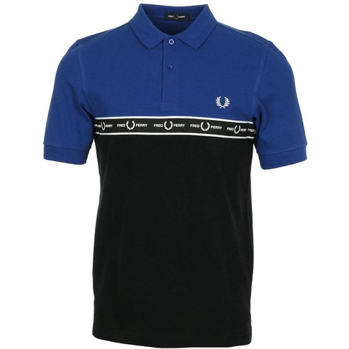 Polo Taped Chest Polo Shirt Bright Regal - Fred Perry - Modalova