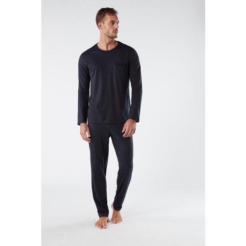 Pyjama long en coton supima® basique - INTIMISSIMI - Modalova