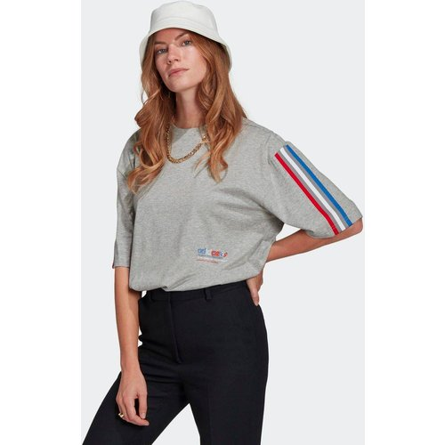 T-shirt Adicolor Tricolor Oversize - adidas Originals - Modalova