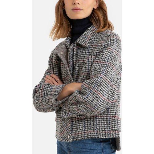 Manteau court, caban à carreaux - SEE U SOON - Modalova