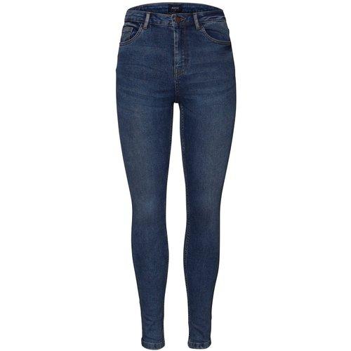 Jean Taille haute skinny fit - Pieces - Modalova