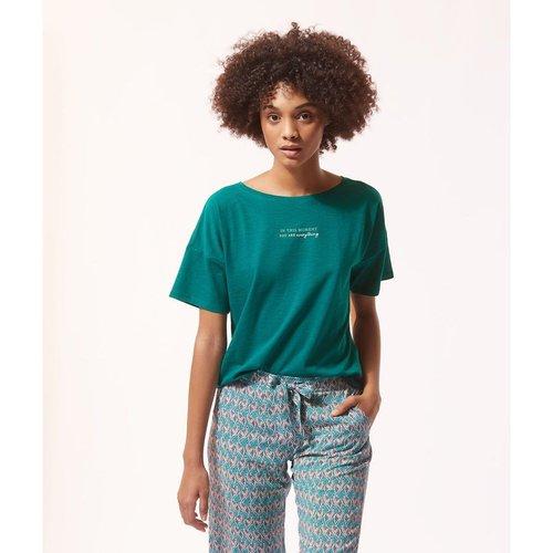 Haut de pyjama t-shirt pyjama coton ADAIA - ETAM - Modalova