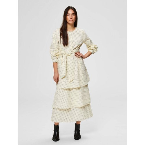 Robe longue Ruches  - Selected Femme - Modalova