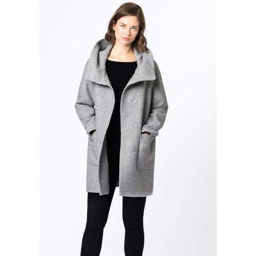 Manteau en laine recyclée - HALLHUBER - Modalova