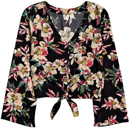 T-Shirt, manches longues, col rond, Uni - Roxy - Modalova