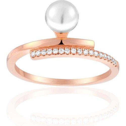 Bague Argent 925/1000 Perle - PERLE DE NUIT - Modalova