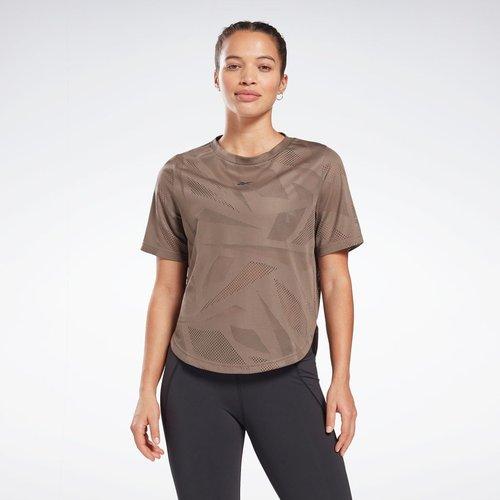 T-Shirt perforé - REEBOK SPORT - Modalova