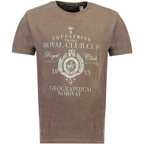 T-Shirt manches courtes JOOPER - geographical norway - Modalova