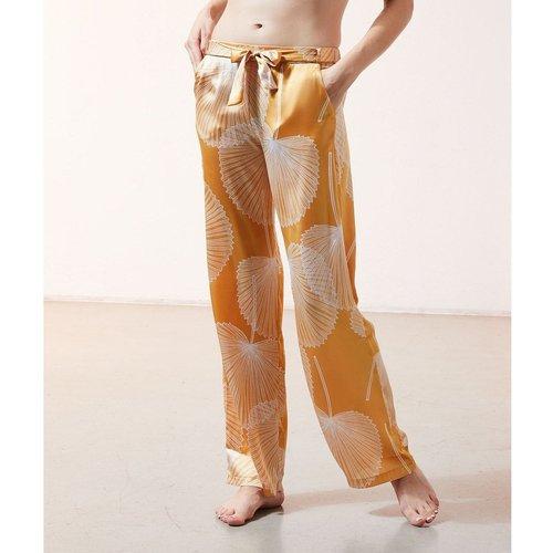Pantalon satiné imprimé SAB - ETAM - Modalova