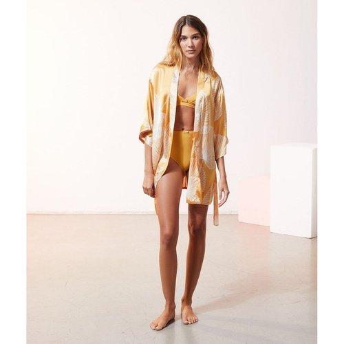 Kimono satiné imprimé SAB - ETAM - Modalova