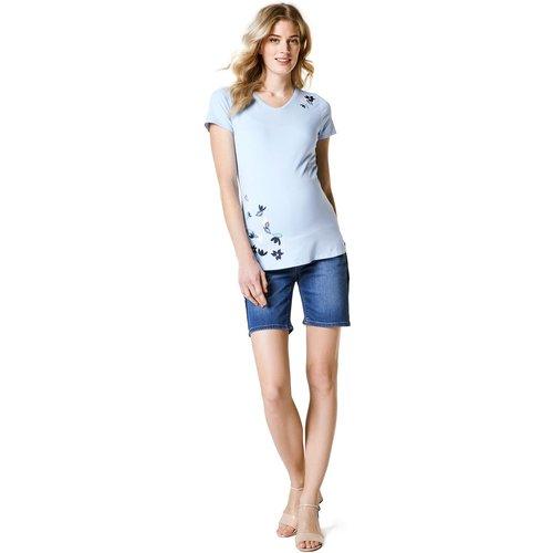 Short en jean de grossesse - ESPRIT FOR MUMS - Modalova