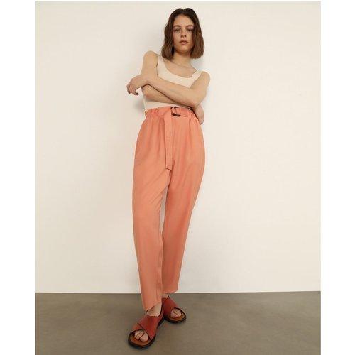 Pantalon fluide ceinture - FORMULA JOVEN - Modalova