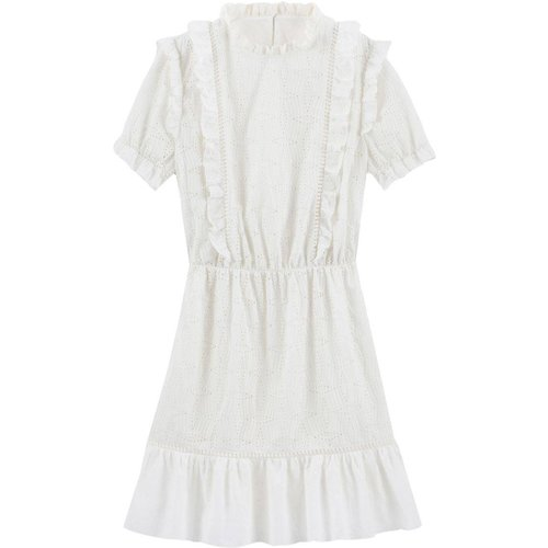 Robe manches courtes en guipure - BALZAC PARIS X LA REDOUTE COLLECTIONS - Modalova