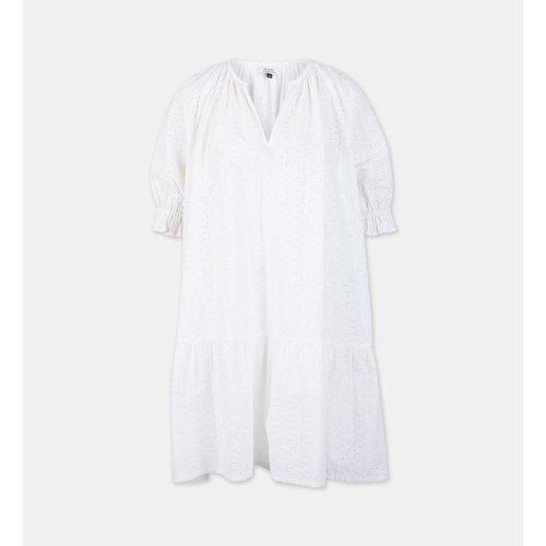 Robe Courte Droite Lois2 Broderies Anglaises Coton Bio - GALERIES LAFAYETTE - Modalova