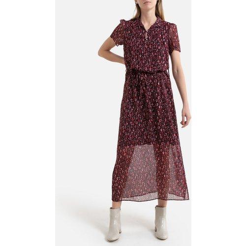 Robe imprimée longue, manches courtes - IKKS - Modalova