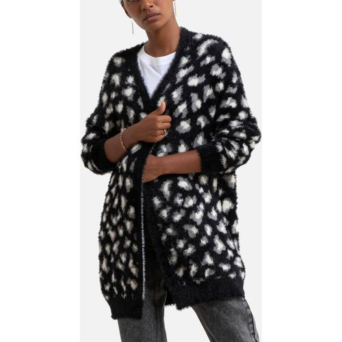 Gilet mi-long, motif léopard à poils longs - MOLLY BRACKEN - Modalova