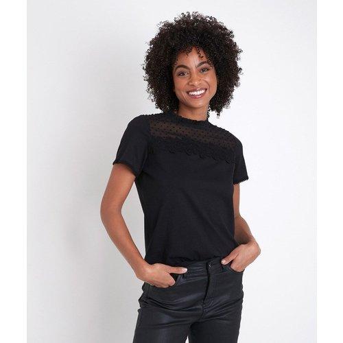 T-shirt en dentelle manches courtes DIXIE - Maison 123 - Modalova
