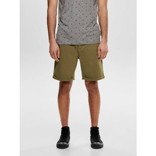 Short chino Couleur unie - Only & Sons - Modalova