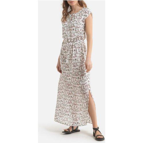 Robe longue imprimée sans manches - IKKS - Modalova