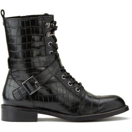 Boots cuir Georginna - COSMOPARIS - Modalova