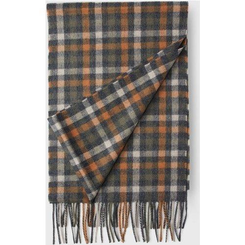 Écharpe en laine cachemire carreaux - Arrow - Modalova