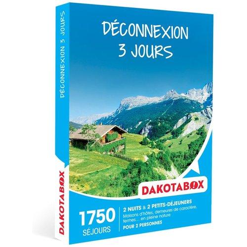 Déconnexion 3 jours - Coffret Cadeau Séjour - DAKOTABOX - Modalova