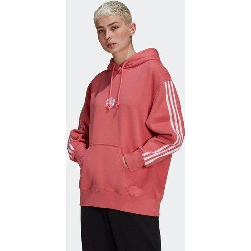 Sweat-shirt à capuche LOUNGEWEAR Adicolor 3D Trefoil - adidas Originals - Modalova