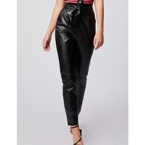 Pantalon droit ceinturé - Morgan - Modalova