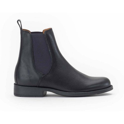 Boots chelsea en cuir CAOURS - Aigle - Modalova